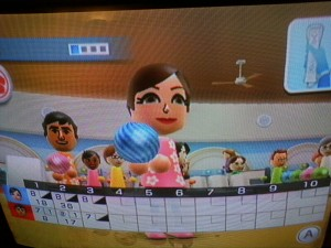Wii Sports Resort Bowling